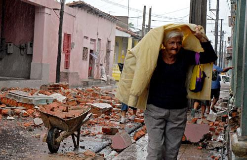 Ajuda humanitária para Cuba