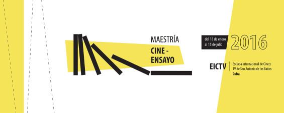 Mestrado de Cinema Ensaio