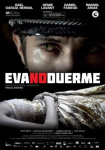 Afiche EVA NO DUERME