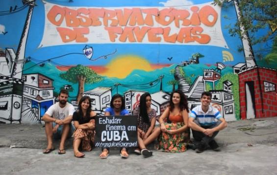 Coletivo de alunos da periferia lança campanha colaborativa para estudar cinema em Cuba