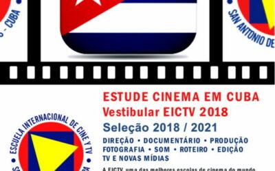 Até 2 de março inscrições abertas para o vestibular da EICTV